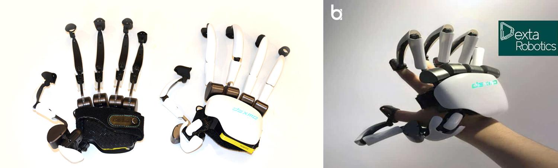 Haptické rukavica pre dokonalú reprodukciu hmatových vnemov