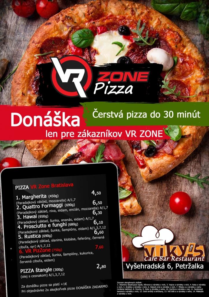 Pizza vo VRzone