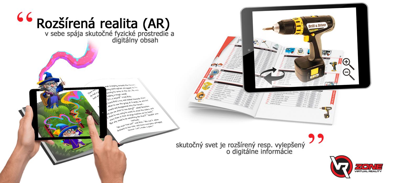 Ako funguje Rozšírená realita, značky, typy AR