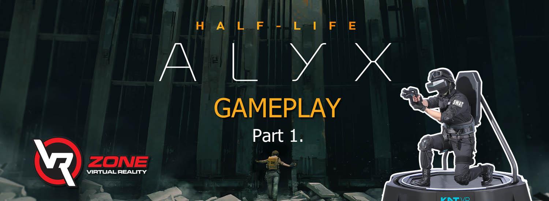 Half-life: ALYX recenzia a GAMEPLAY